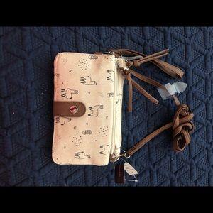Llama purse